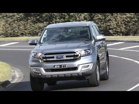 REVIEW 2017 Ford Everest Trend RWD