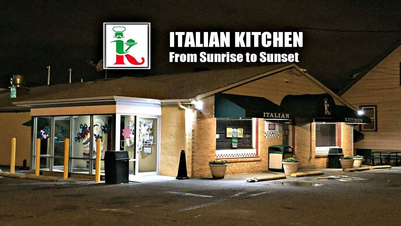 Italian Kitchen Sunrise to Sunset YouTube