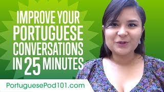 Baixar Learn Portuguese in 25 Minutes - Improve your Portuguese Conversation Skills