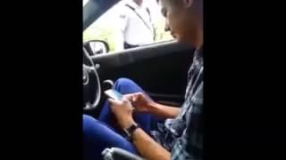 Cina keras kepala, melawan polis traffik