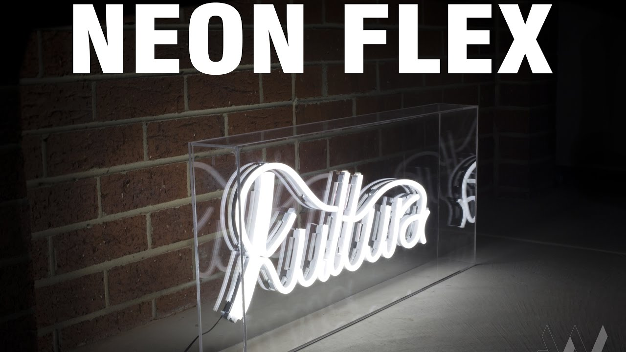 Handmade Led Neon Sign Neon Flex Youtube