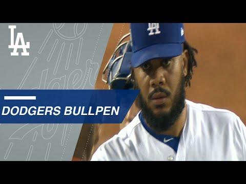 Dodgers bullpen keeping Cubs' bats silent in NLCS