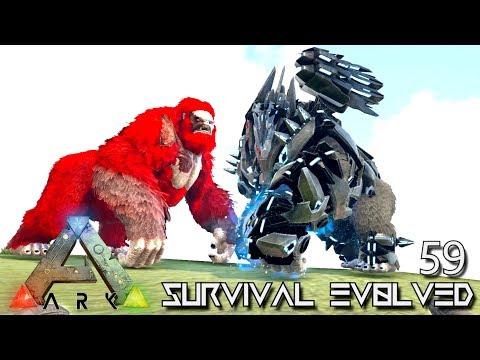ARK: SURVIVAL EVOLVED - TEK GORILLA BOKITO PRIMORDIAL MEGAPITHECUS !!! E59 (MOD EXTINCTION CORE)