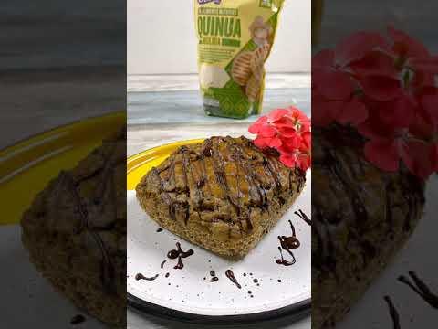 Torta de banano con quinua