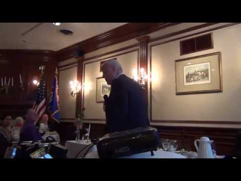Tom Kimmel Speech WWII Round Table Atlanta, GA, 5/19/16