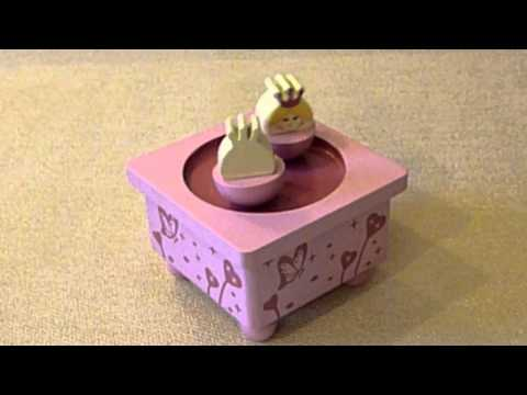 Princess Music Box - Baby Gifts - Snuggle Collection - Wholesale Giftware