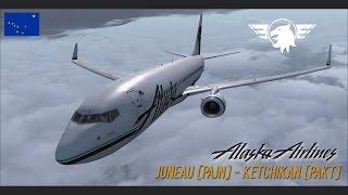 ASA60 | AMAZING APPROACH | Juneau (PAJN) - Ketchikan (PAKT) | FSX | PMDG 737NGX