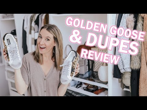 Golden Goose Review & Golden Goose Dupes  + Try On