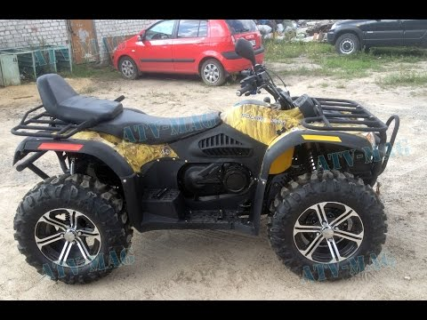 Polar Fox XY 500 ATV-2: atv-mag.ru