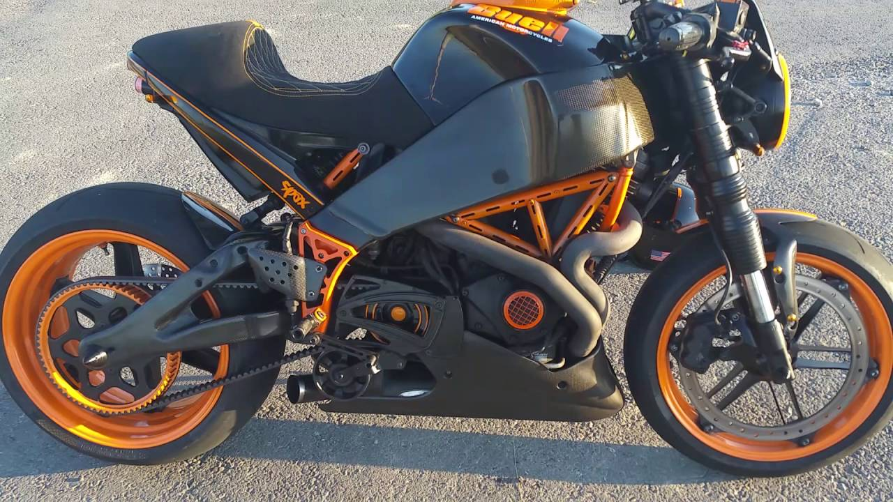 Buell Xb Spaxter Dragster Cafe Racer