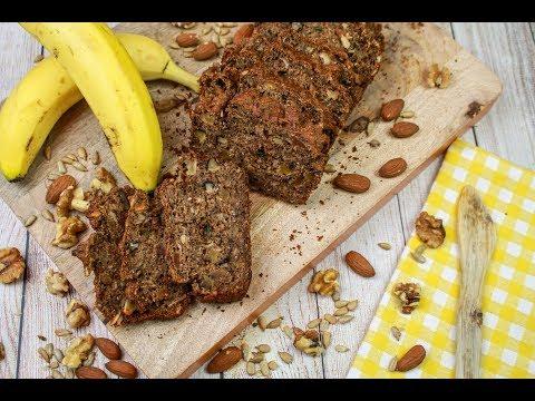Banana Bread, Get Nutty Whole Grain Banana Bread Recipe