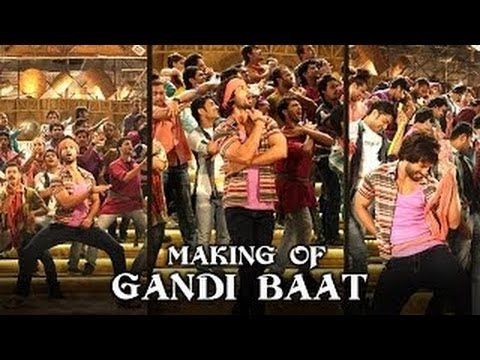 Making Of The (Gandi Baat) | R..ar | Shahid Kapoor & Sonakshi Sinha