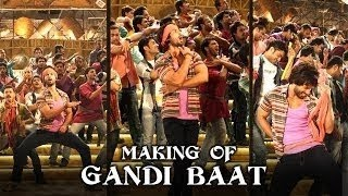 Making Of The (Gandi Baat) | R...Rajkumar | Shahid Kapoor & Sonakshi Sinha