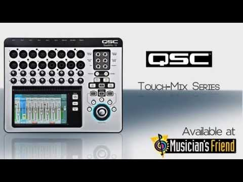 QSC TouchMix Compact Digital Mixer Series