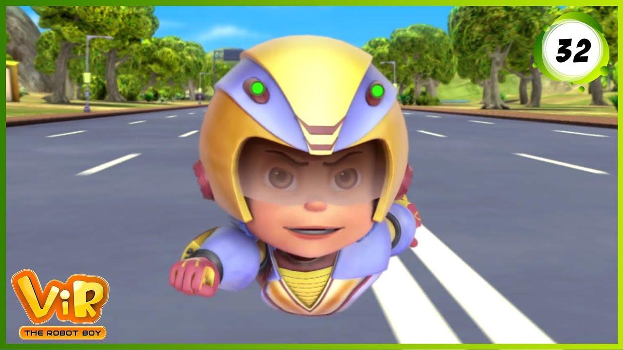 Download Vir: The Robot Boy   Jungle Safari   Action Show for Kids   3D cartoons
