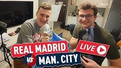Real Madrid vs Manchester City! OGLĄDAMY (bez widoku meczu!)