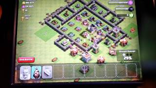 Clash of clans with hunter