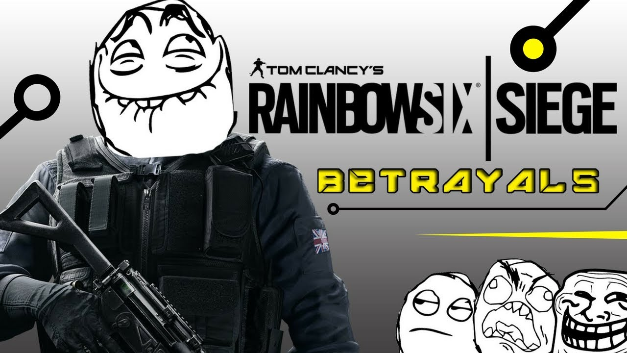 rainbow six siege betrayals how to win just running. Black Bedroom Furniture Sets. Home Design Ideas