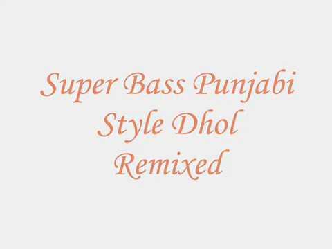 Punjabi Bhangra beats [INSTRUMENTAL]