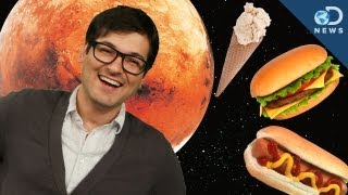 What Food Will We Eat On Mars?