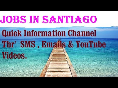 Jobs in SANTIAGO   City for freshers & graduates. industries, companies.  CHILE