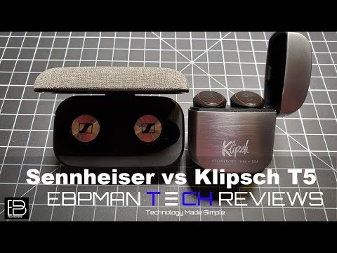 Sennheiser Momentum True Wireless Earbuds vs Klipsch T5 True Wireless Earbuds Comparison