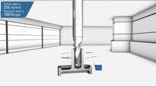 Drill thread milling cutter