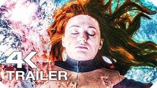 ЛЮДИ ИКС׃ ТЁМНЫЙ ФЕНИКС Русский Трейлер #2 (4K ULTRA HD) НОВЫЙ 2019 СуперХеро Marvel X-Men Movie HD