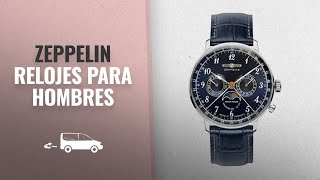 Top 10 Ventas Zeppelin 2018: Graf Zeppelin Hindenburg Swiss Quartz Moonphase Calendar Dress Watch