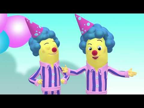 Pink Bananas - Animated Episode - Bananas in Pyjamas Official