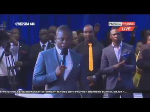 Prophet Shepherd Bushiri 's Controversial Prophecy about Zambia and  Morocco