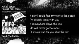 "Download Adhitia Sofyan ""Forget Your Plans"" full album + lyric"