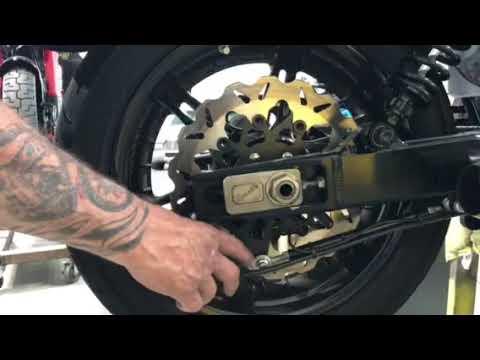BBP Radial rear Bracket Rear caliper Dyna