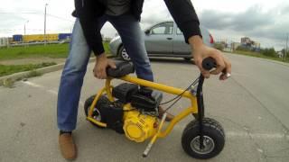 как сделать мини мотоцикл