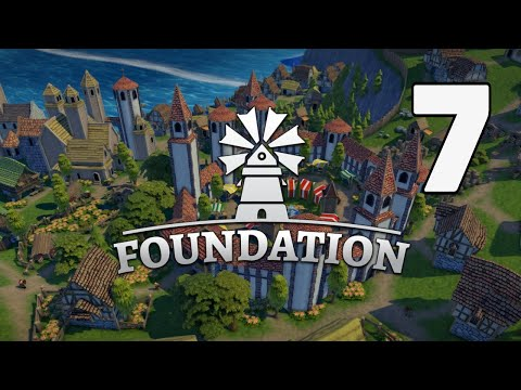 HUNTERS AND TAX COLLECTORS! -  Foundation - Medieval City Builder - Jamestown Episode 7