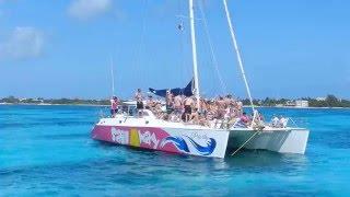 Catamaran Privado para 20 personas Cancun Isla Mujeres