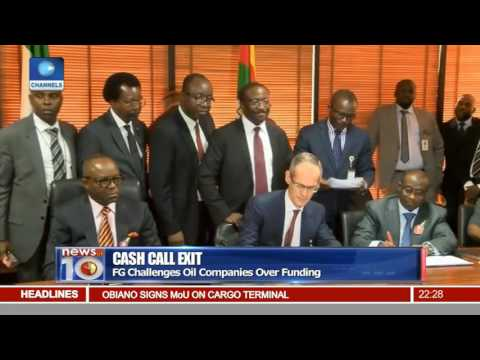 News@10: NNPC, Int'l Oil Firms Agree To End Joint Venture 15/12/16 Pt.2