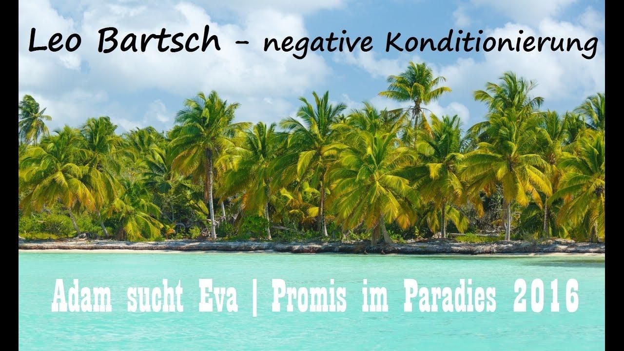 Adam Sucht Eva Promis Im Paradies