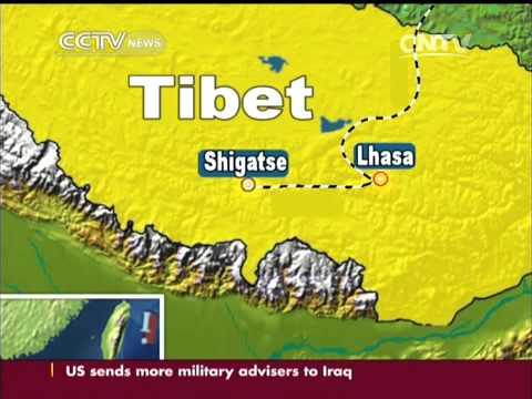 China finishes railway connecting Lhasa to Shigatse