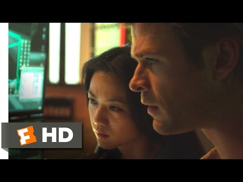 Blackhat (2014) - Hacking the NSA Scene (4/10) | Movieclips