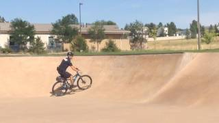 Cops Shred At The Skate Park!! (Bikes And Skate Boards)