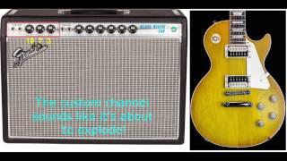 Fender '68 Custom Deluxe Reverb Demo