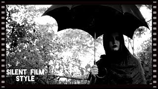 'GRAVEYARD WITCH SILENT FILM' Free Stock Footage