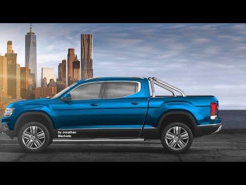 MAKING OF 2018 Volkswagen Atlas Pickup Truck #VW