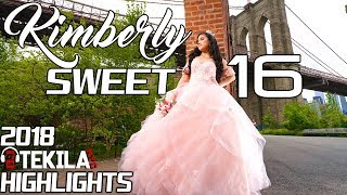 kimberly sweet 16 baile sorpresa vals waltz quinceanera new york dj tekila nyc