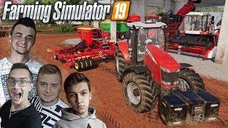 """""""od Ara do Hektara"""" #55 ✔ Siewy kukurydzy & pszenicy - Farming Simulator 19 ✔ MafiaSolecTeam"""