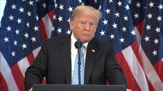 President Trump holds press conference after UN meetings in New York | ABC News