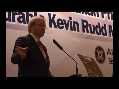 Prime Minister Kevin Rudd AustCham address in Beijing (4th Oct 2008)