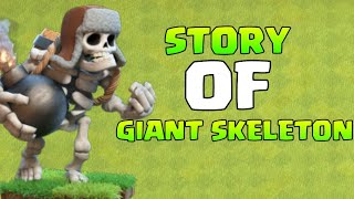 Story of Giant Skeleton in Hindi 😍 (Clash of Clans) | Face Revel? | Giveaway Of 1200 Gems | COC |
