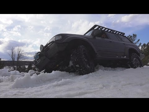 Toyota Land Cruiser Off Road: Dubois to Pinedale 2015- Part1